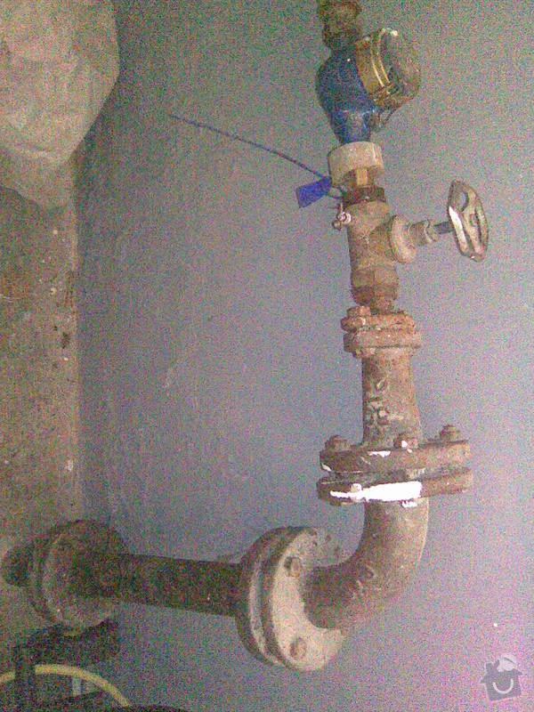 Rekonstrukce vodovodní přípojky pro RD: voda