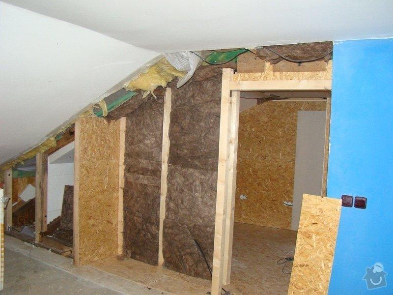 Rekonstrukce podkroví: DSC02470