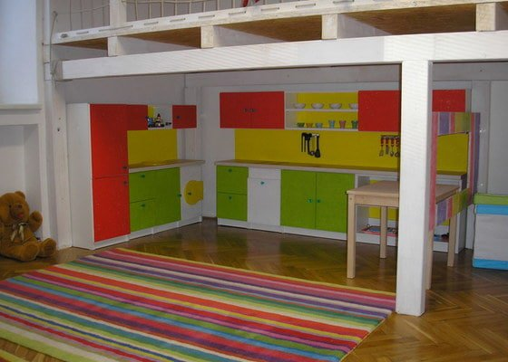 Nábytek na zakázku - MŠ Creative Kids Brno