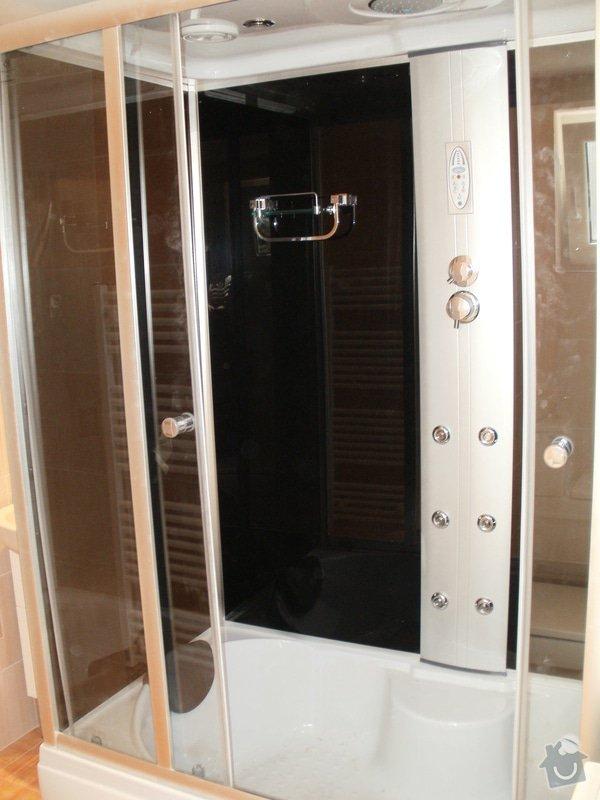 Rekonstrukce zděné koupelny: 2