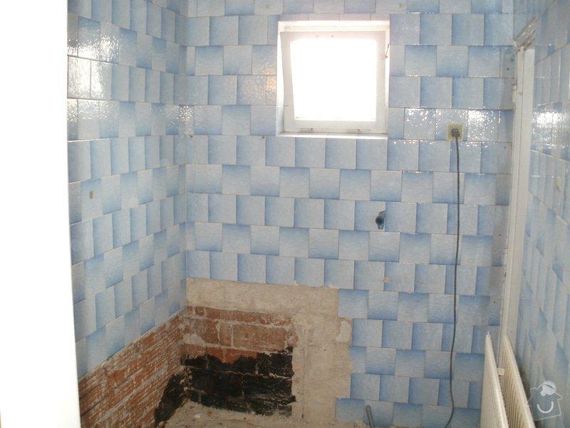 Rekonstrukce zděné koupelny: 5