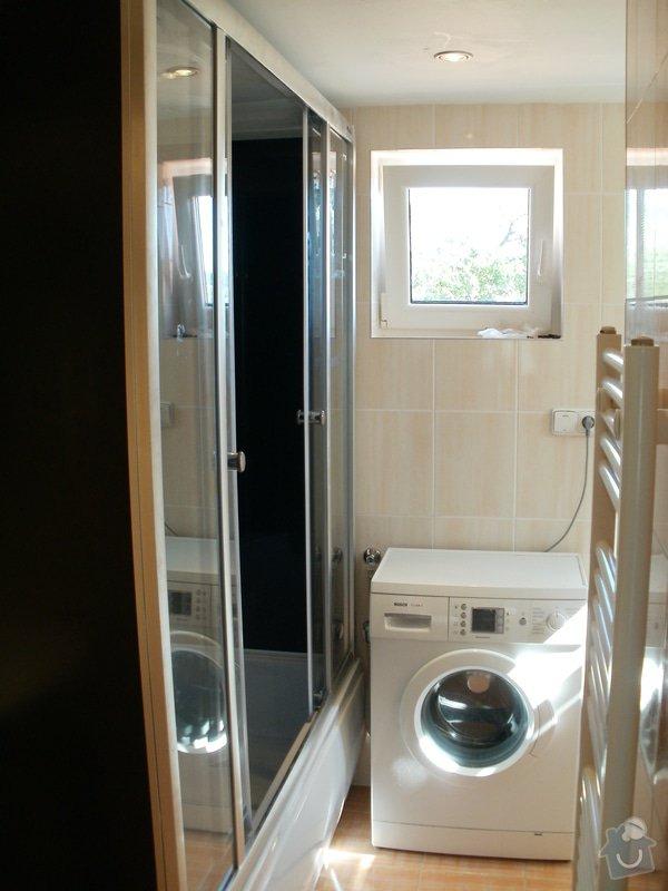 Rekonstrukce zděné koupelny: 6
