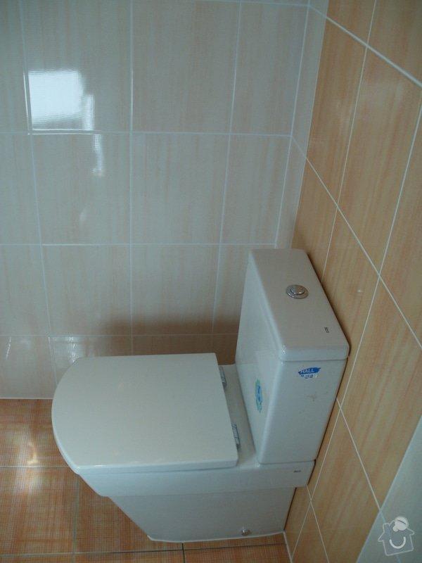 Rekonstrukce zděné koupelny: 8
