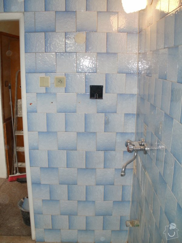 Rekonstrukce zděné koupelny: 9