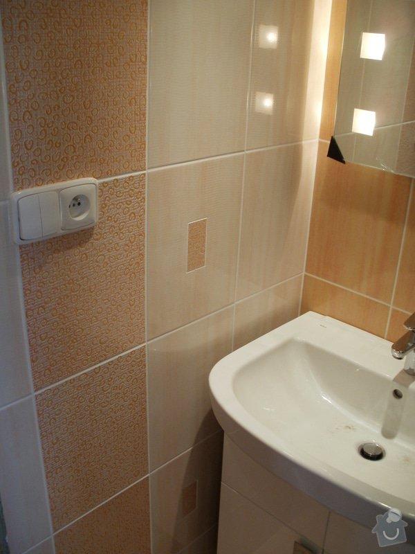 Rekonstrukce zděné koupelny: 10
