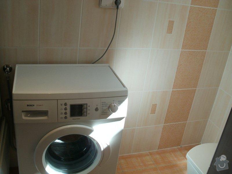 Rekonstrukce zděné koupelny: 11