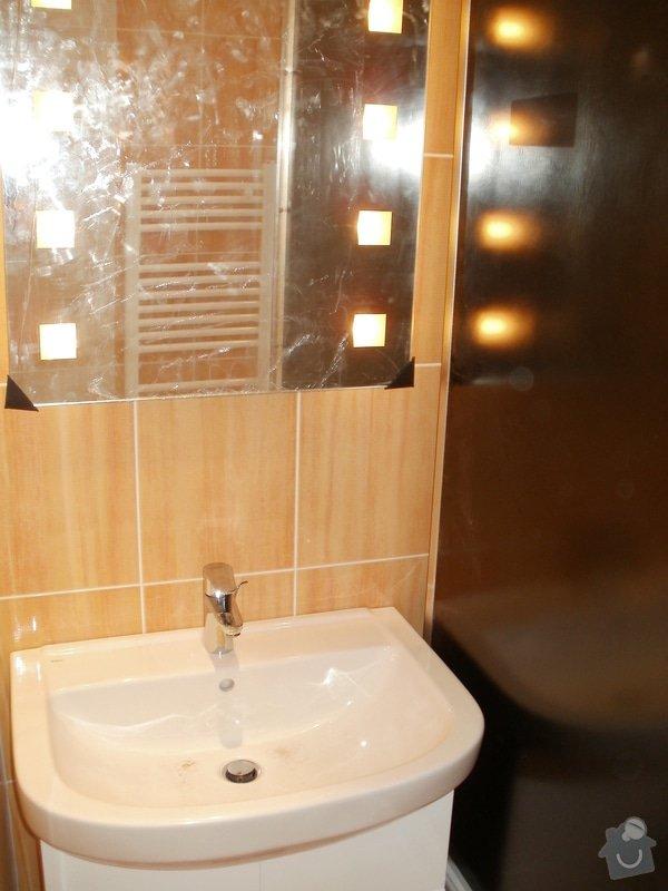 Rekonstrukce zděné koupelny: 12