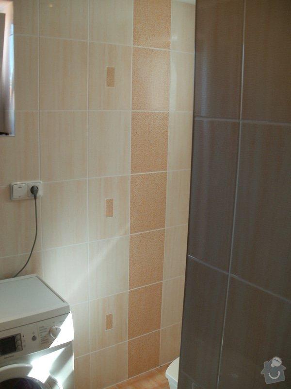 Rekonstrukce zděné koupelny: 13
