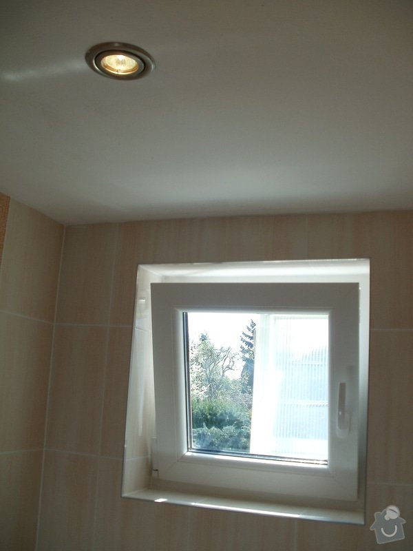 Rekonstrukce zděné koupelny: 14
