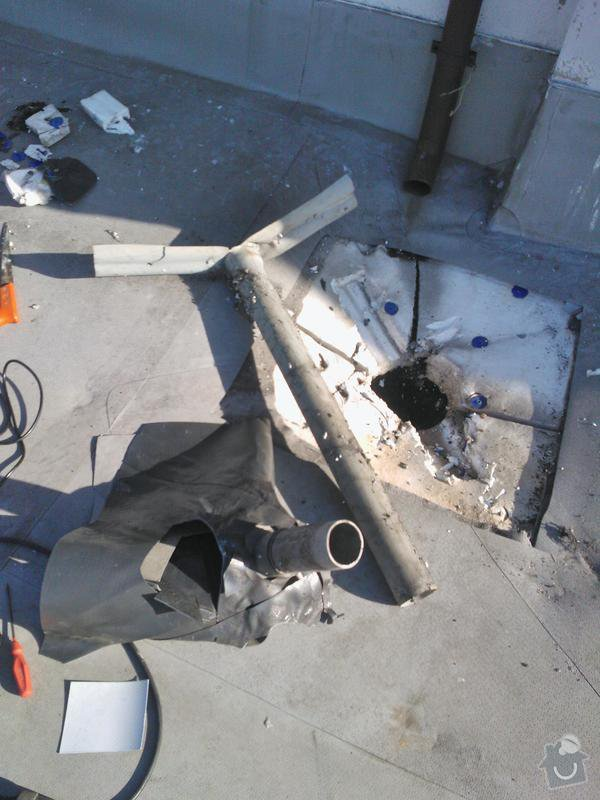 Odstranit zatékání do bytů vizuálně dobrou střechou: WP_000042