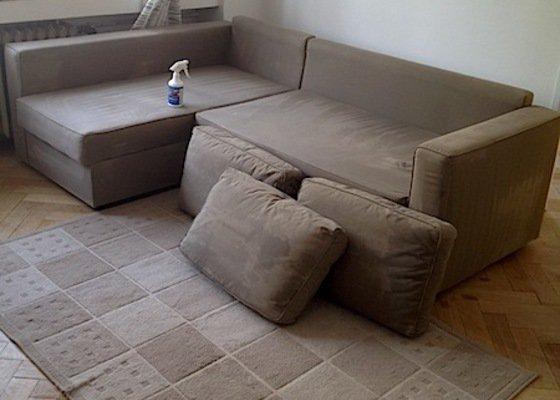 Čištění sedací soupravy, čištění polštářů, antibakteriální čištění matrace, čištění koberce, impregnace sedačky a impregnace koberce