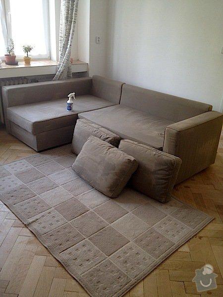Čištění sedací soupravy, čištění polštářů, antibakteriální čištění matrace, čištění koberce, impregnace sedačky a impregnace koberce: IMG_0704