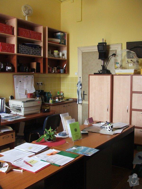 Zhotovení nábytku do kanceláře sekretariátu: DSCF7162