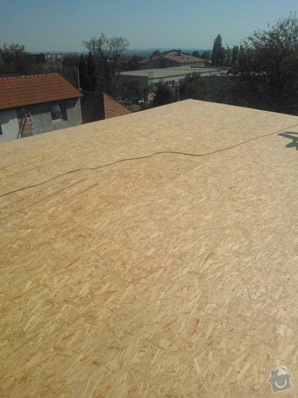 Izolace střechy : WP_000072