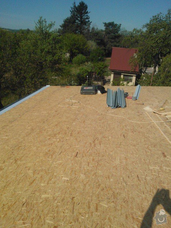Izolace střechy : WP_000073