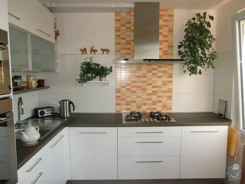 Obklad kuchyňské linky: finale