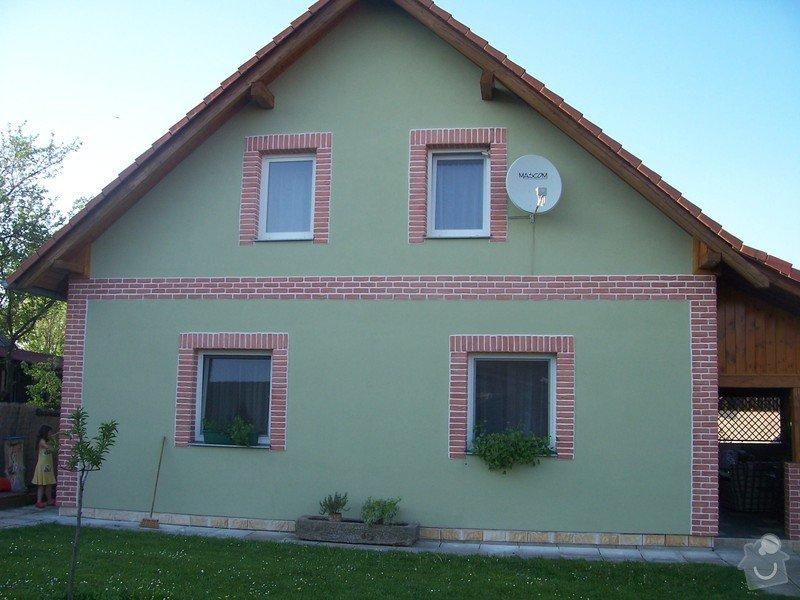 Nátěr fasády : ST1
