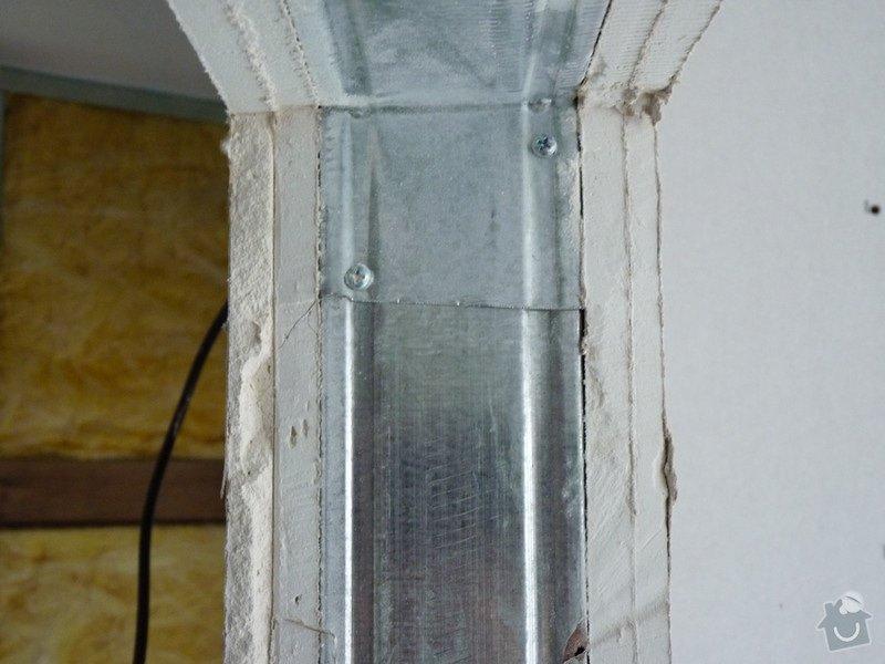 Sádrokarton, příčky (60m2) a podhledy (80m2): P1150333
