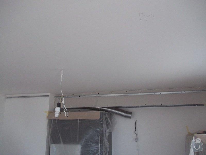 Snížené podhledy a montáž bodového osvětlení: 104_1371