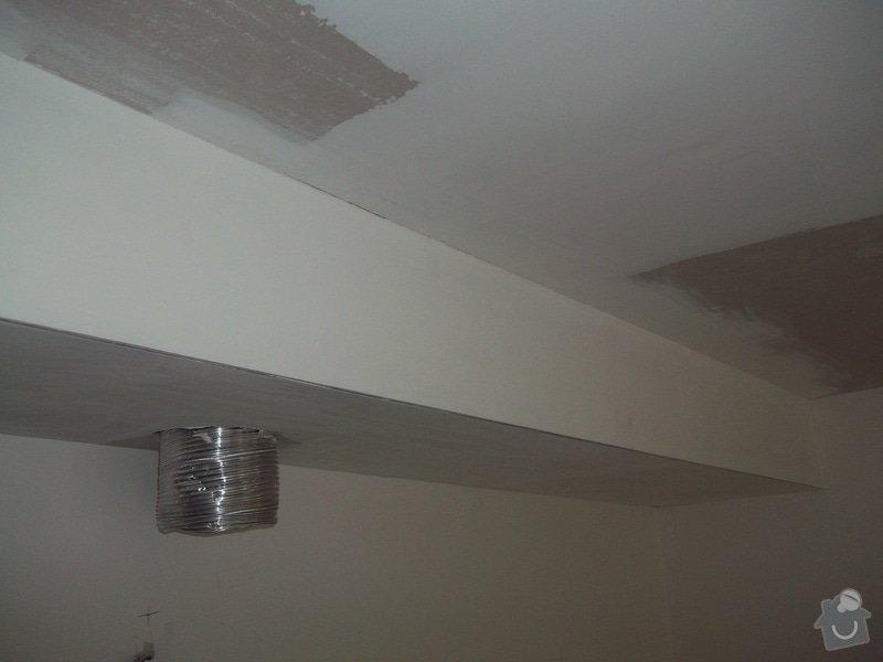 Snížené podhledy a montáž bodového osvětlení: 104_1404