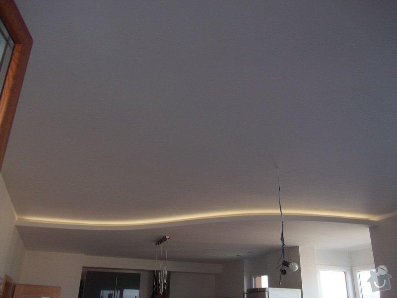 Snížené podhledy a montáž bodového osvětlení: 104_1407