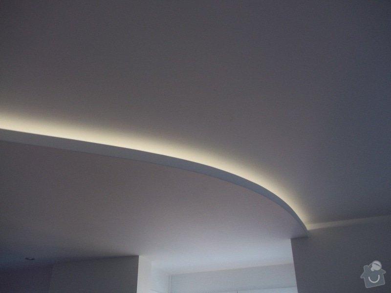 Snížené podhledy a montáž bodového osvětlení: 104_1408