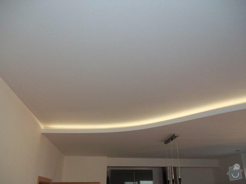 Snížené podhledy a montáž bodového osvětlení: 104_1409