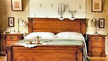 Dubová postel z masivu