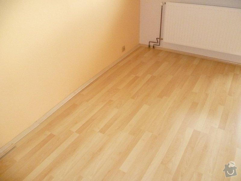 Úprava podkladu a pokládka podlahy: P1010856
