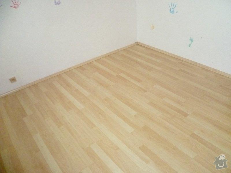 Úprava podkladu a pokládka podlahy: P1010860
