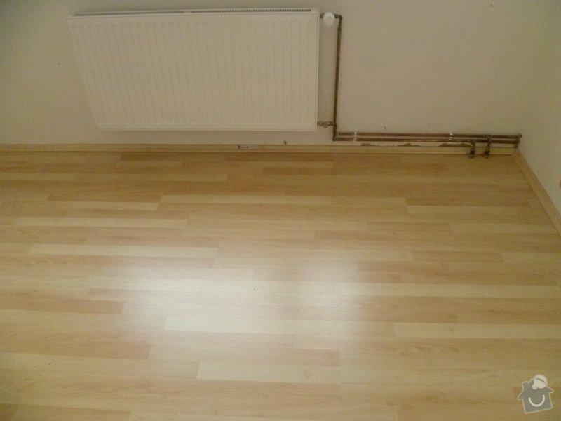 Úprava podkladu a pokládka podlahy: P1010862