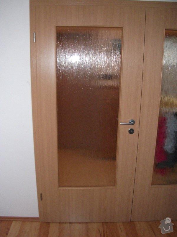Vyříznutí inter.dveří  na doplnění skla 520 x 1400 mm: DSCF4451