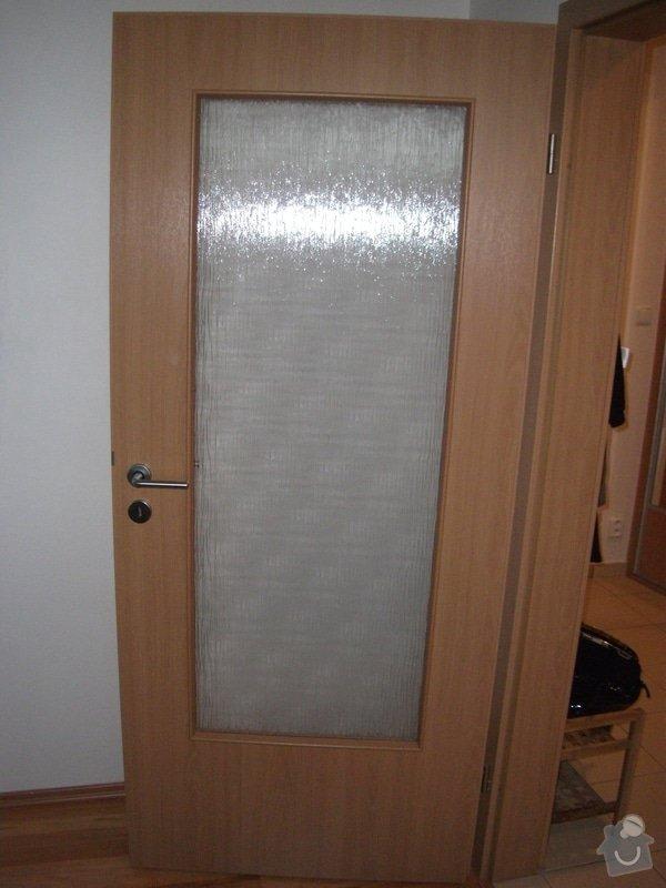 Vyříznutí inter.dveří  na doplnění skla 520 x 1400 mm: DSCF4452