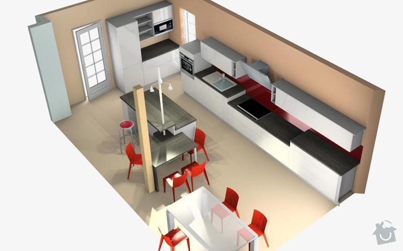 Výroba kuchyně: kuchyn2