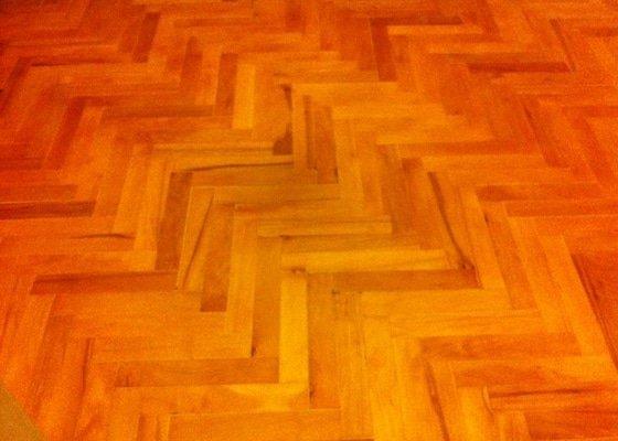 Oprava a úprava parketové podlahy