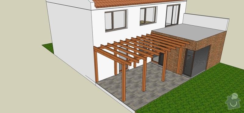 Dřevěná pergola: pergolaKucera02