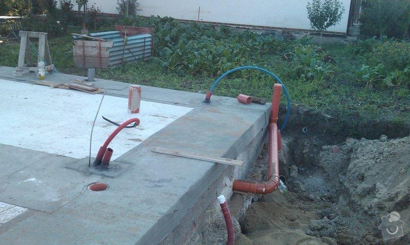 Zednické práce - stavba plotu : Zvonek