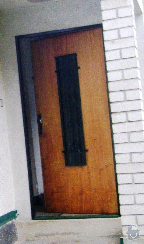 Výměna vchodových dveří: dvere