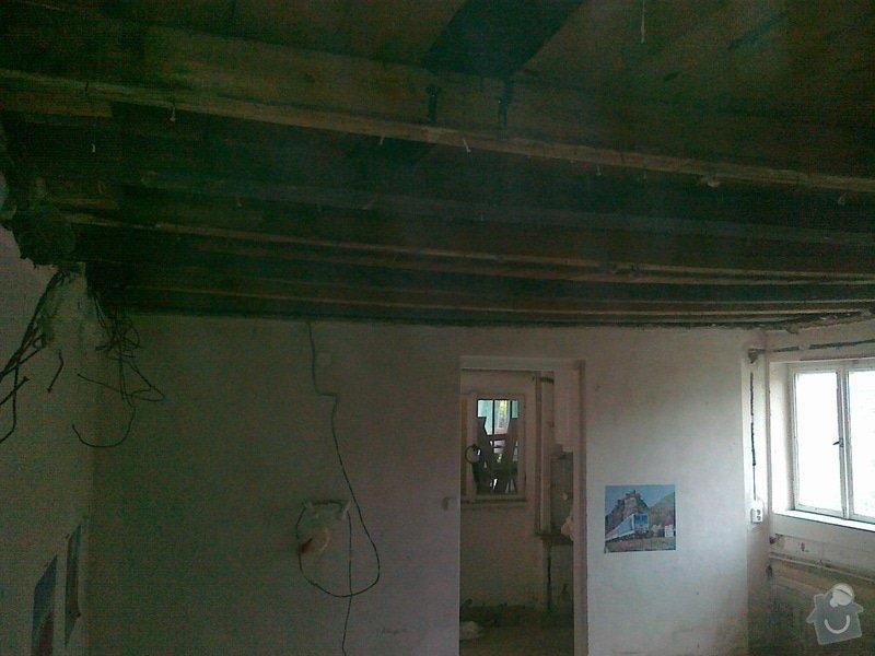 Palubkovy strop 18m2 Cernosice: 05052012230