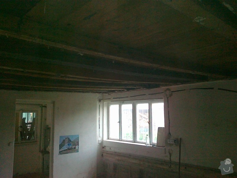 Palubkovy strop 18m2 Cernosice: 05052012231