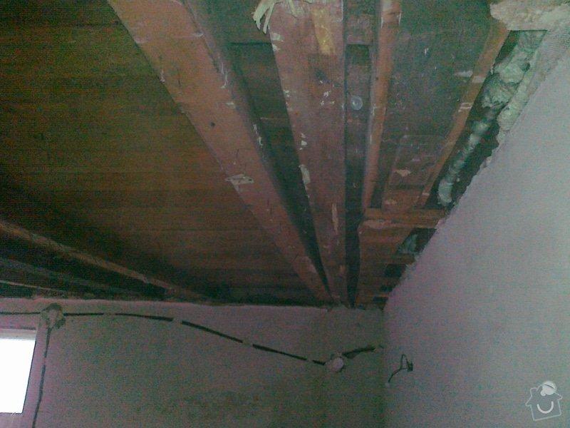 Palubkovy strop 18m2 Cernosice: 05052012232