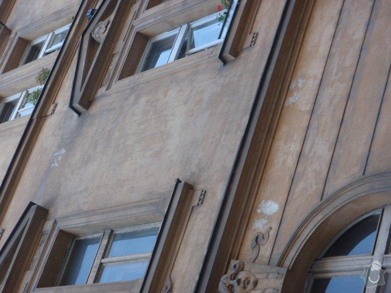 Oprava fasády historického domu: P5080139