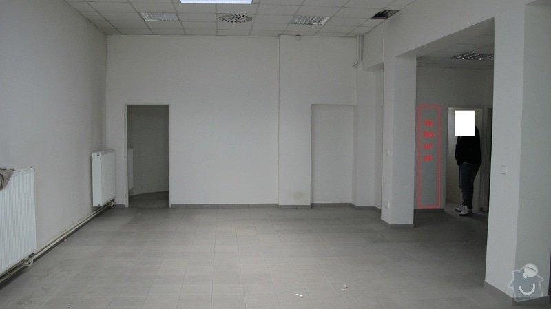 Stavební úpravy prodejny: pruchod_2