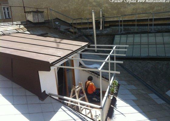 Výroba a montáž zastřešení terasy