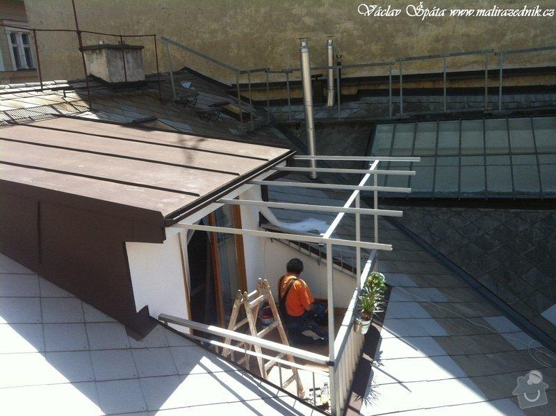 Výroba a montáž zastřešení terasy: 2
