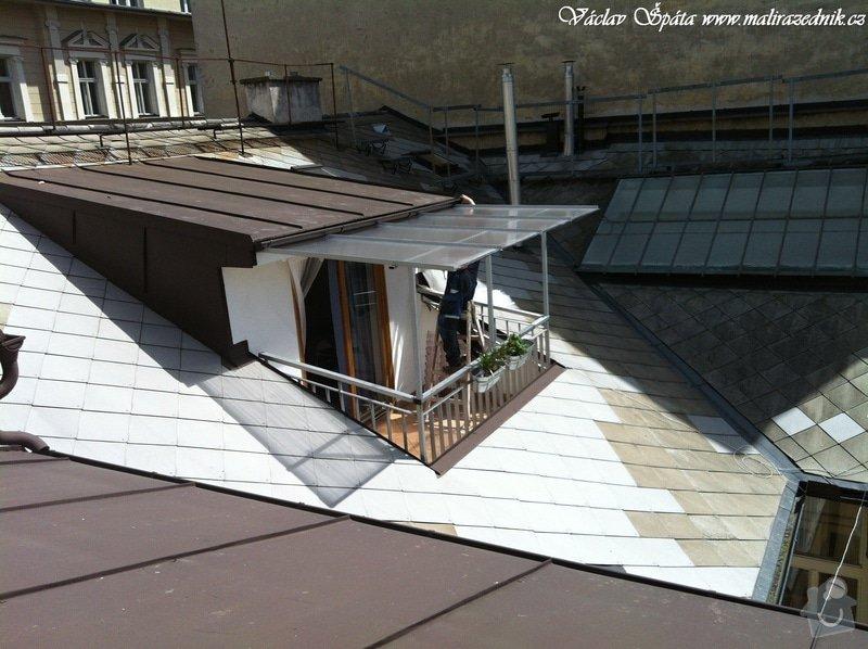 Výroba a montáž zastřešení terasy: 3