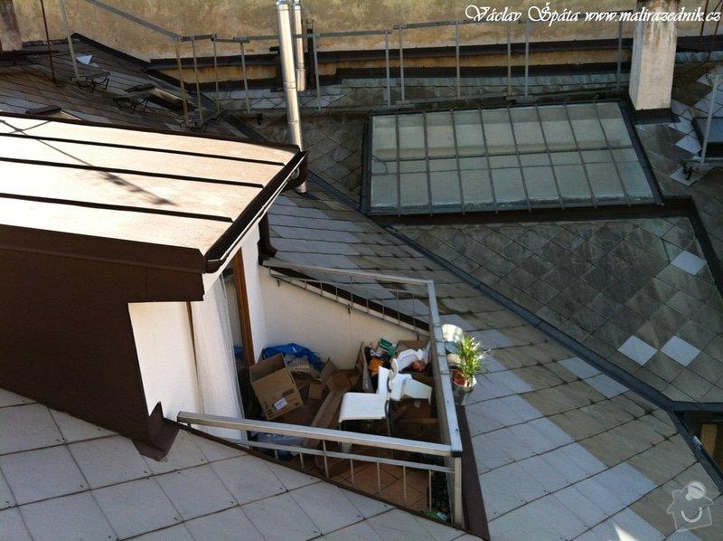 Výroba a montáž zastřešení terasy: 5