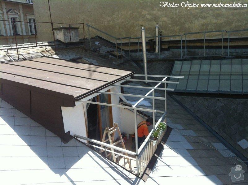 Výroba a montáž zastřešení terasy: IMG_0961