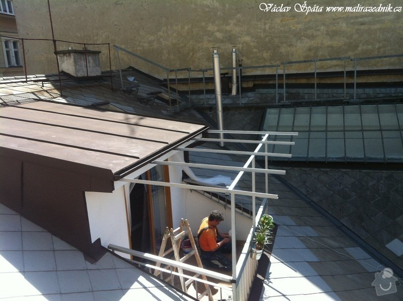 Výroba a montáž zastřešení terasy: IMG_0962