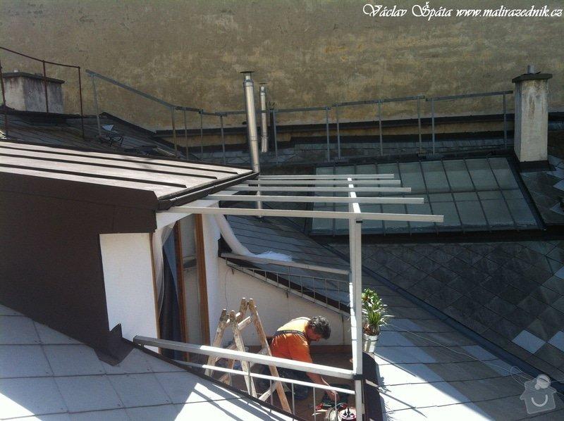 Výroba a montáž zastřešení terasy: IMG_0964
